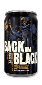 Back in Black IPA Beer 21st Amendment