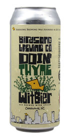 Doin' Thyme Witbier by Birdsong Brewing Co.
