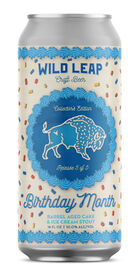 Birthday Month Barrel Aged Cake and Ice Cream Stout, Wild Leap Brew Co.