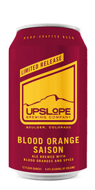 Upslope Beer Blood Orange Saison