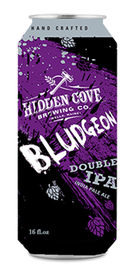 Bludgeon Double IPA by Hidden Cove Brewing Co.