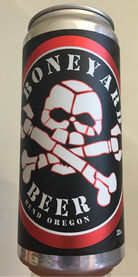 Bone-A-Fide Pale Ale by Boneyard Brewing