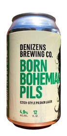 Born Bohemian Pils, Denizens Brewing Co.