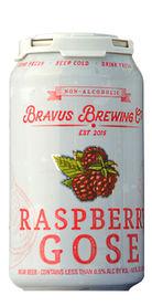 Bravus Raspberry Gose (Non-Alcoholic), Bravus Brewing Co.