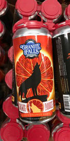 Canis Rouge Blood Orange Sahti by Granite Falls Brewing Co.