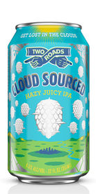 Cloud Sourced Hazy Juicy IPA, Two Roads Brewing