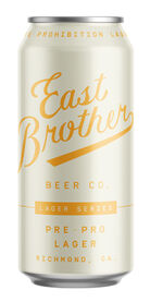 East Brother Beer Pre-Pro Lager, East Brother Beer Co.