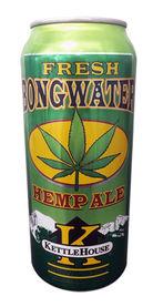Fresh Bongwater Hemp Ale by KettleHouse Brewing Co.
