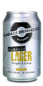 Garage Classic Lager, Garage Brewing Co.