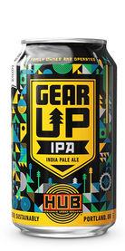 HUB Hopworks Urban Brewery Gear UP IPA beer