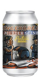 Gingerbread Murder Scene, Pontoon Brewing