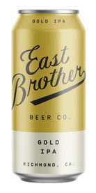 Gold IPA, East Brother Beer Co.