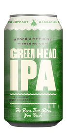 Newburyport Green Head IPA Beer