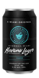 Havana Lager, Concrete Beach Brewery