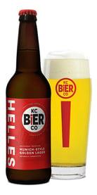 Helles Lager, KC Bier Co.