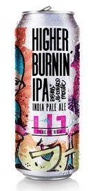 Higher Burnin IPA, LIC Beer Project