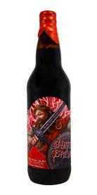 Highland Charge Bourbon Barrel Aged Wee Heavy Scottish Ale, Heathen Brewing