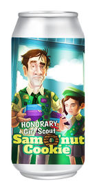 Honorary Girl Scout: Samo'nut Cookie, Pontoon Brewing