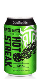 Hot Streak IPA black tooth beer