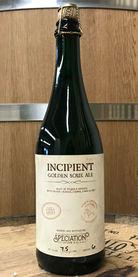 Incipient - Tequila BA Sour Golden w/ Blueberries, Limes, & Salt by Speciation Artisan Ales