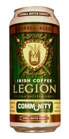 Irish Coffee Barrel-Aged Legion, Community Beer Co.