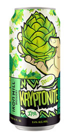 Kryptonite Double IPA, Iron Hill Brewery