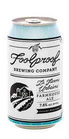 Foolproof Beer La Ferme Urbaine Farmhouse Ale Saison