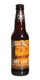 Last Leaf Maple Brown Ale by Starr Hill Brewery