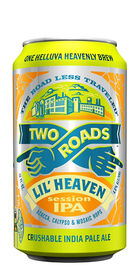 Two Roads Beer Lil heaven Session IPA