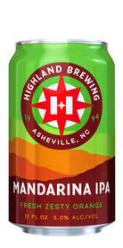 Mandarina IPA, Highland Brewing Co