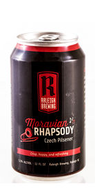 Moravian Rhapsody Raleigh Brewing Beer