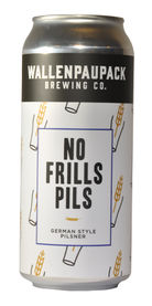 No Frills Pils, Wallenpaupack Brewing Co.