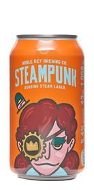 Noble Rey Brewing Steampunk Steam Lager