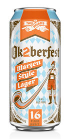 Two Roads Ok2berfest Beer Marzen