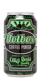 Oskar Blues Hotbox Coffee Porter Beer