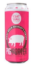 Pig Porter, Right Brain Brewery