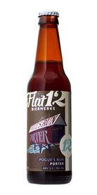 Flat 12 Bierwerks Pogue's Run Porter beer