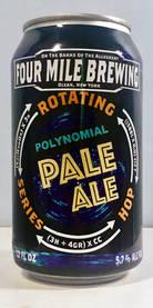 Polynomial Pale Ale, Four Mile Brewing