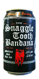 Solemn Oath Brewery Snaggletooth Bandana IPA beer
