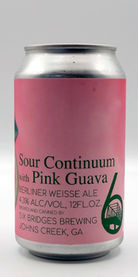 Sour Continuum with Pink Guava, Six Bridges Brewing