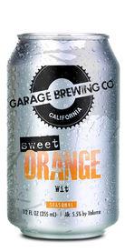 Sweet Orange Wit, Garage Brewing Co.
