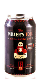 The Miller's Toll Raleigh Brewing beer