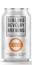 Third Wheel Belgian Tripel, Sibling Revelry Brewing