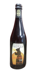 Three Fates Tripel by Barrle of Monks Brewing
