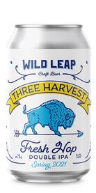 Three Harvest DIPA - Spring 2021, Wild Leap Brew Co.