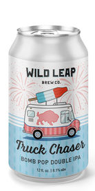 Truck Chaser Bomb Pop Double IPA, Wild Leap Brew Co.