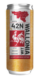 Wallonia Wit, 42 North Brewing Co.