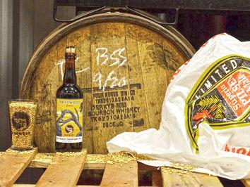 Thomas Creek's Bull Sluice Quadruple Ale