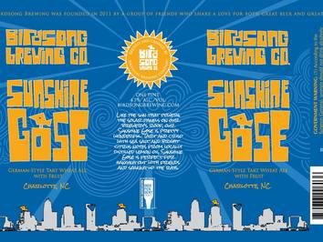 Birdsong Brewing Releases Sunshine Gose