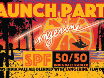 Red Hare Brewing Tangerine 50/50 SPF Releases